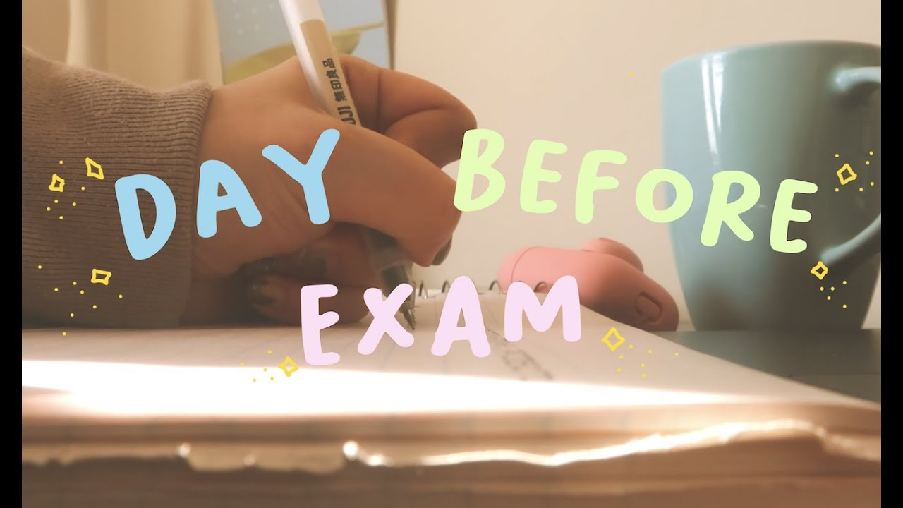 Download the day before an exam (a uni vlog)
