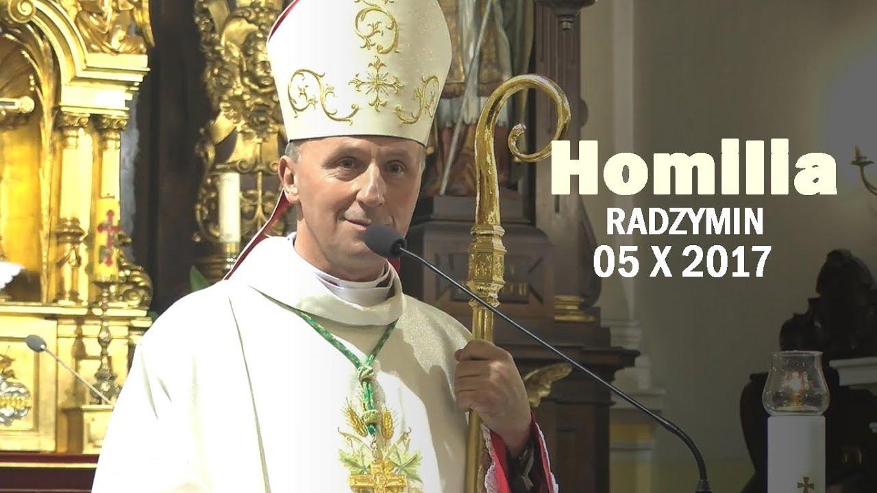 Bp M. Solarczyk: Bądźmy wrażliwi na Słowa Boga (homilia z 05 X 2017 r.)