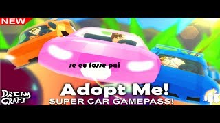If I were father (Roblox version) Game: Adopt Me! (In Portuguese)