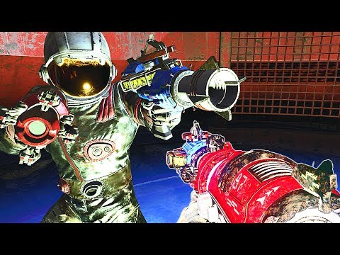 4 WAVE GUNS TRICK TUTORIAL! Call of Duty Black Ops 3 Zombies Chronicles Moon Wonder Weapons