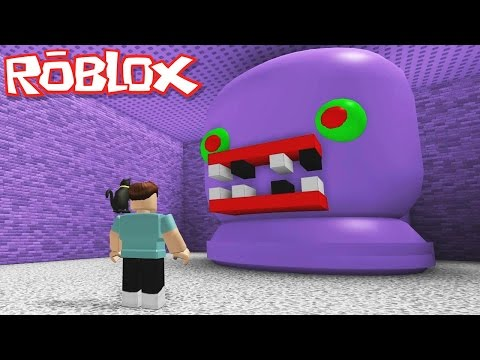 Roblox Adventures / Escape The CraftedRL Obby / Escaping the Evil Purple Monster!