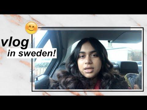 Travelling to Sweden | Vlog