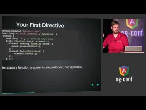 Dave Smith  - Deep Dive into Custom Directives - NG-Conf 201