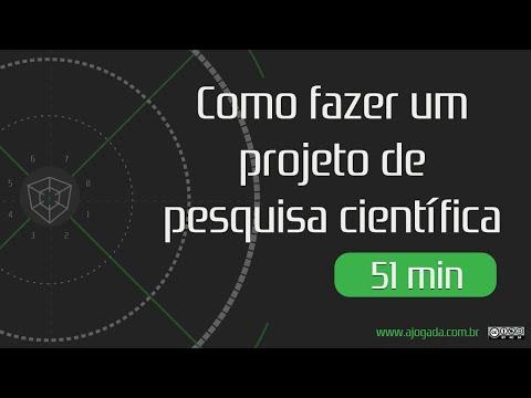 Como Fazer Um Projeto de Pesquisa Científica - Gaminário 012