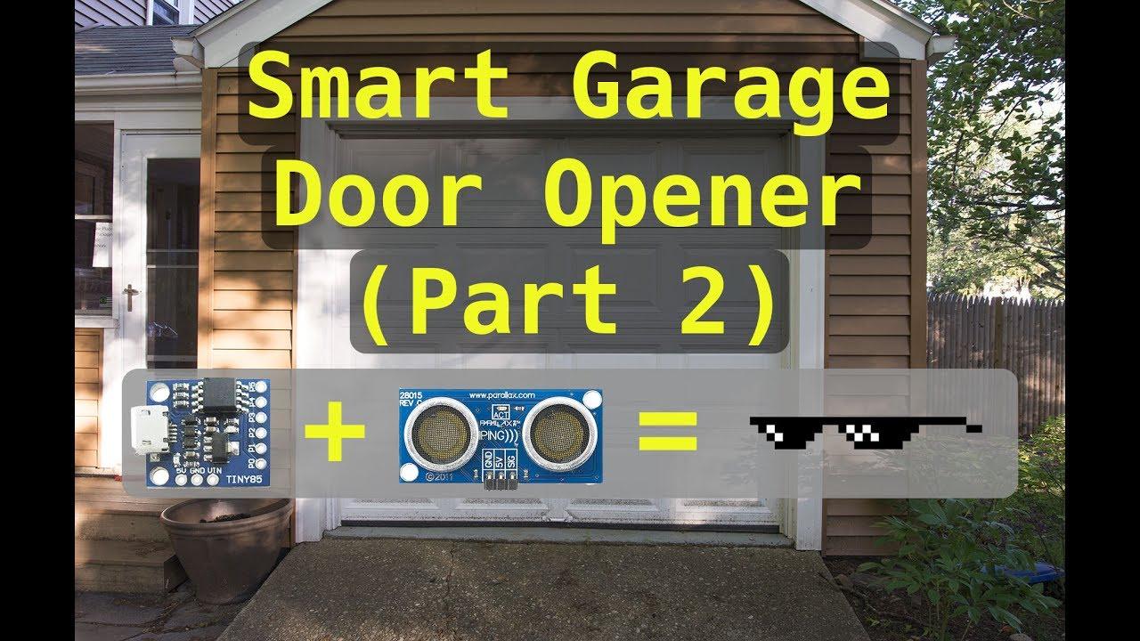 Wifi Controller Garage Door Opener Part 2 Summer Project Youtube