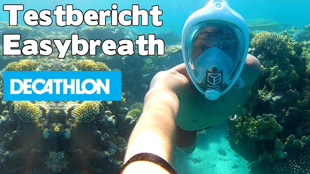 6baedb50a Test Testbericht Easybreath Decathlon Tribord Schnorchelmaske in Ägypten -  auf deutsch