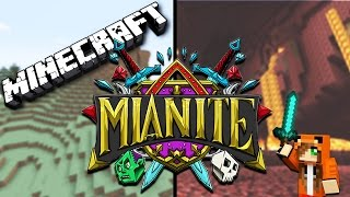 TOM BURNT DOWN THINGS?! WIZARDS?! WTF IS GOING ON  -  Minecraft Mianite