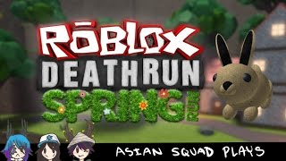 CHU KEEPS DYING | ROBLOX DEATHRUN | Asian Squad Plays #1