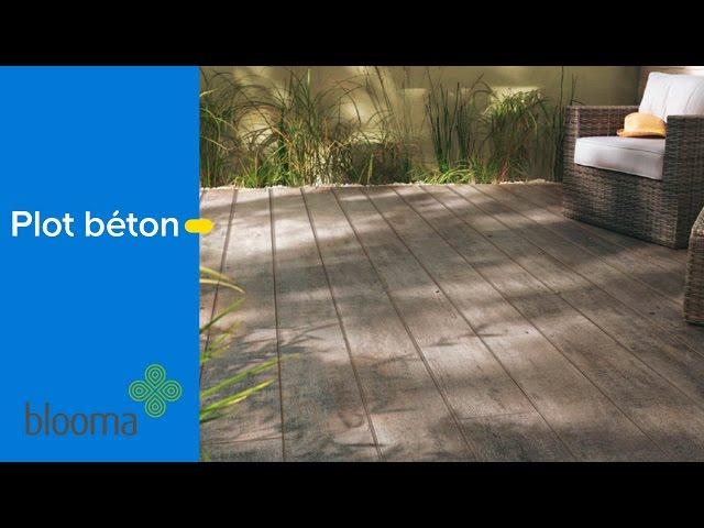 Plot En Béton Pour Terrasse Castorama Youtube