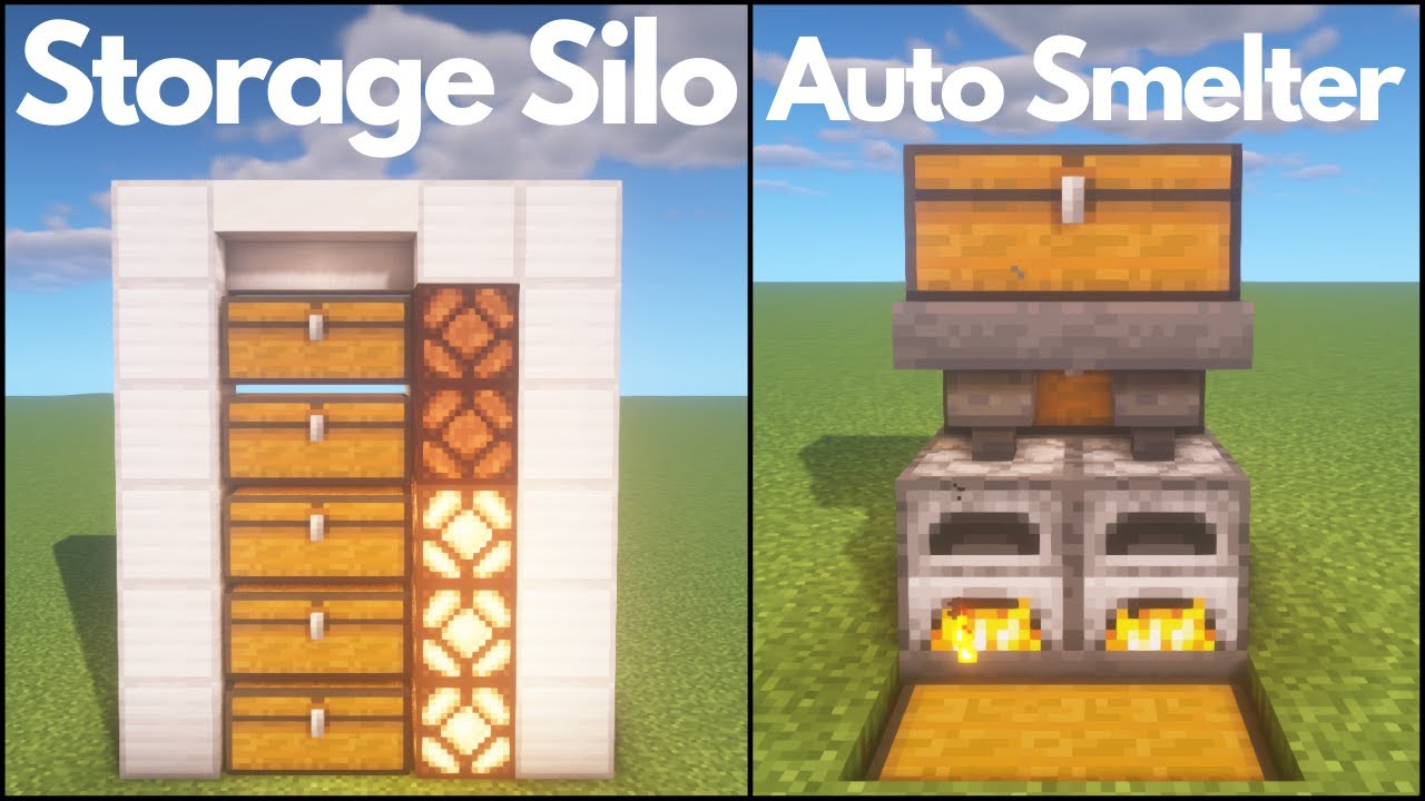 Minecraft: 3 Useful Redstone Builds YouTube
