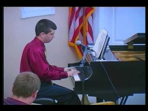 How Great Thou Art - Awesome Piano Solo - 16 year old Marcus -