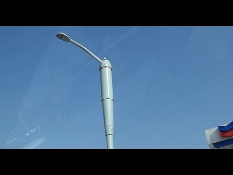 I SPOTTED 2 5G LIGHT POLES IN LOS ANGELES. THIS IS WHAT IT LOOKS LIKE.