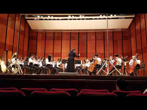 Dulles Middle School Honors Orchestra DC Festival Organ Fugue in G minor