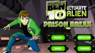 Ben 10 Ultimate Alien Prison Break-Walkthrough