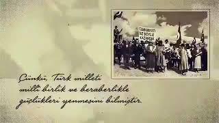 Ataturk; Beni anlamak demek mutlaka yuzumu gormek demek degildir.!