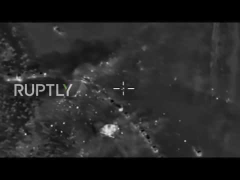 Syria: Russian air force kill 120 IS militants on their way to Palmyra
