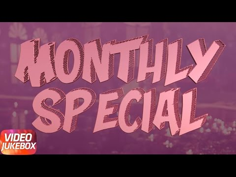 Monthly Special - April | Special Punjabi Song Collection | Speed Records