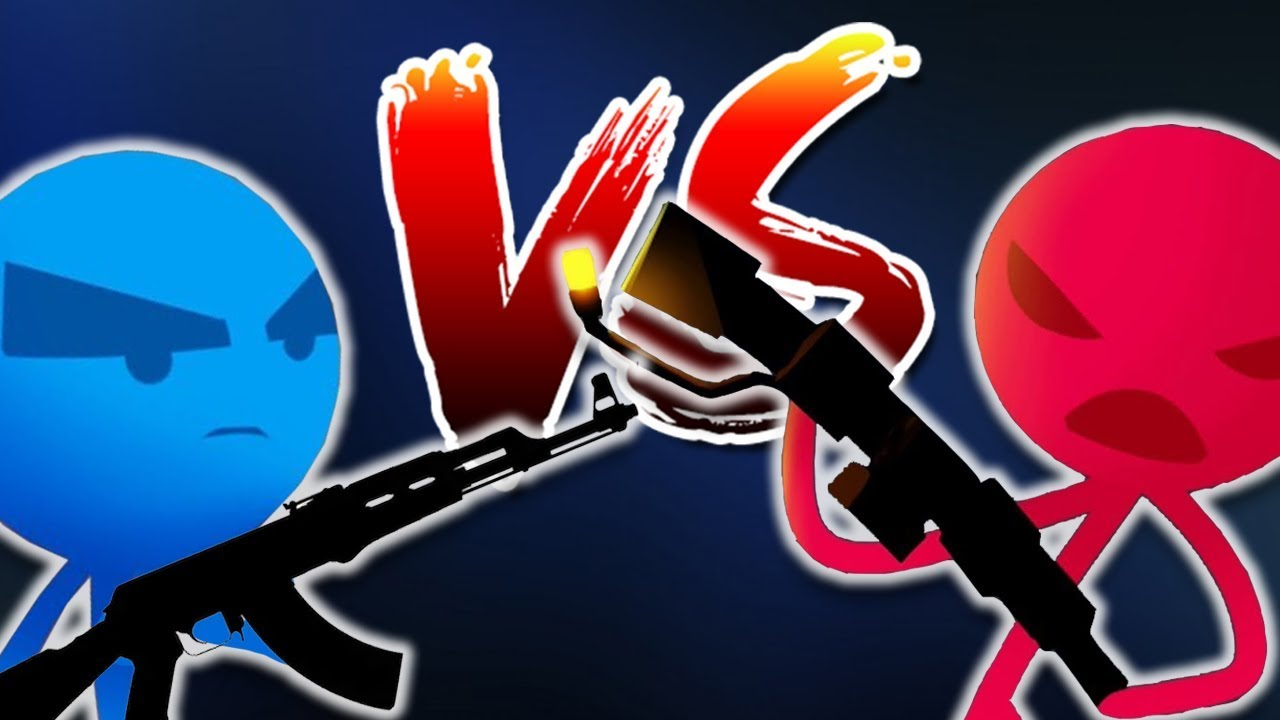 THỬ THÁCH SÚNG TO!!| Stick Fight: The Game