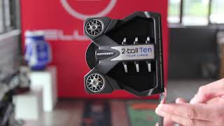 Odyssey putters White Hot OG and the new 2021 Strokelab 10