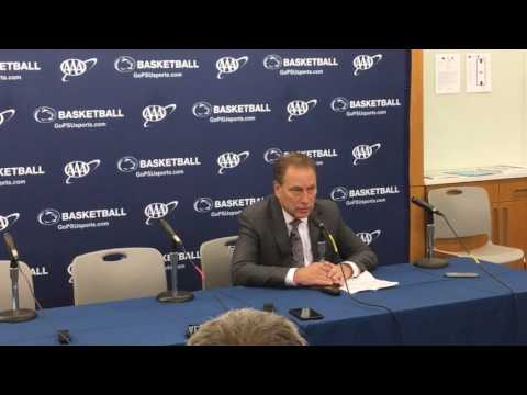 Tom Izzo recaps loss to Penn State