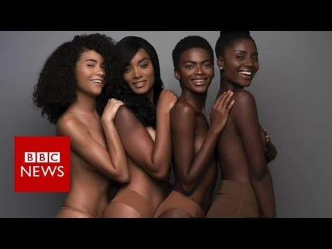 Why nude isn't nude for women of colour - BBC News