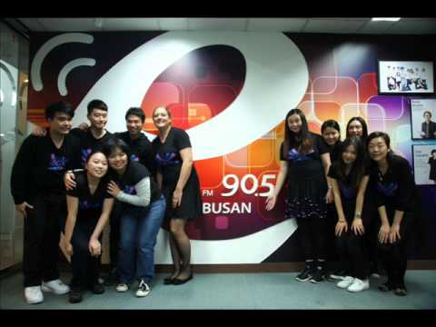 City Singers - Busan Radio FM90.5 Interview on 18 Oct 2013