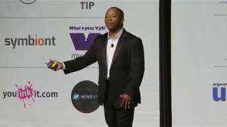 Blockchain World Conference, Atlantic City July 13th 2018,  Damon Bryant PhD speech