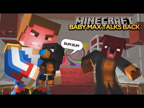 Minecraft - Donut the Dog Adventures -BABY MAX TALKS BACK!!!!