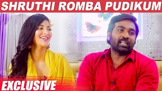 Vijay Sethupathy and Shruthi Hassan exclusive interview