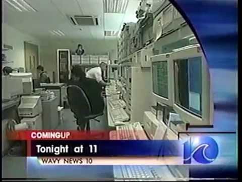 WAVY 10  Norfolk VA  2001 News