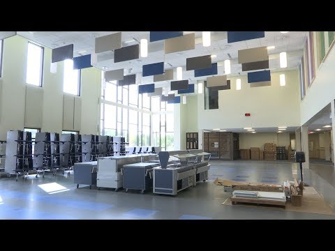A Look Inside New North Woods Elementary School