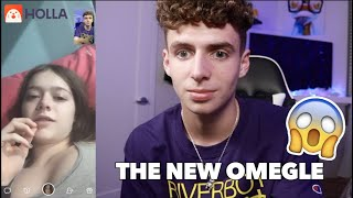FINDING A GIRLFRIEND ON THE NEW OMEGLE (HOLLA APP)