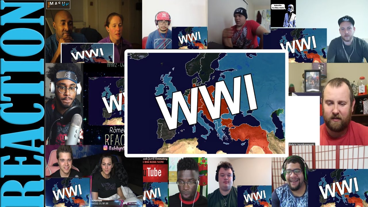 Download WW2 - OverSimplified (Part 1) REACTIONS MASHUP
