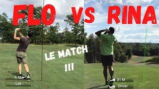 FLO VS RINA : Le match au golf du grand Saint-émilionnais !