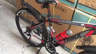 Trinx m136 2017 lên full option . Xedaptrinx.vn . 0962606669 . Bán xe đạp nhập khẩu nguyên thùng tạ