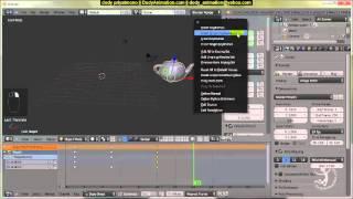 tutorial Blender bahasa indonesia: Dasar animasi dengan Blender