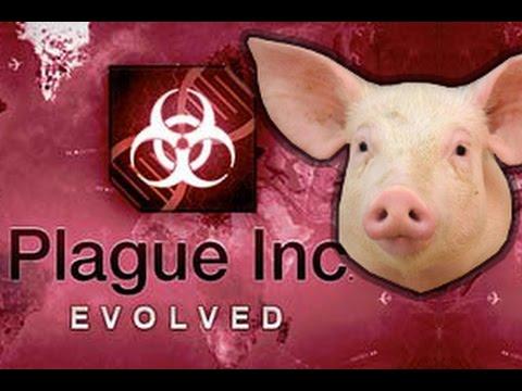 Swine Flu Mega Brutal Plague Inc: Evolved Gameplay