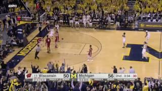 Wagner Slams It vs. Wisconsin
