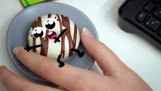 Donuts can't close their mouth!!! 🍩😱 | Cute Food Doodles Compilation #32