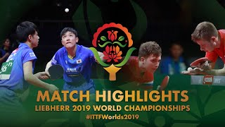 Денис Ивонин и Владимир Сидоренко vs Tomokazu Harimoto / Yuto K. | R64 | WTTC-2019