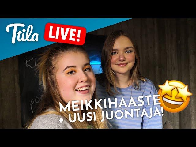 Ttila LIVE: Meikkihaaste!