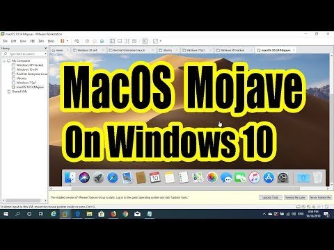 Use MacOS Mojave On Windows 10 (Hackintosh)