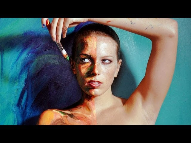 Your body is my canvas | Alexa Meade