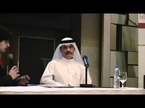 Dr. Amin Hussain AI Amiri speaks at IQPC's Pharma Logistics Middle East