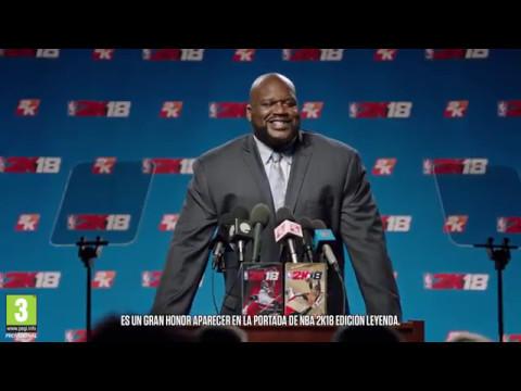 Shaquille O'Neal protagonista de NBA 2K18, conoce la edición leyenda
