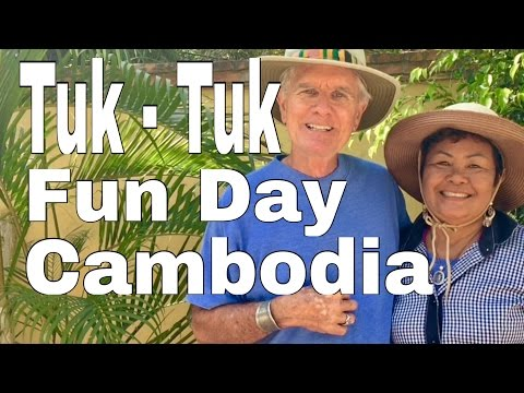 Cambodia Tuk-Tuk Adventure on Top place to travel Battambang, Phnom Penh,Siem Reap,Kampot,Kep,