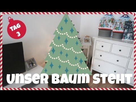 unser weihnachtsbaum es schneit wir backen jess mas. Black Bedroom Furniture Sets. Home Design Ideas