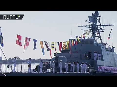 Iran bolsters its fleet with domestically-made 'Wave' project destroyer