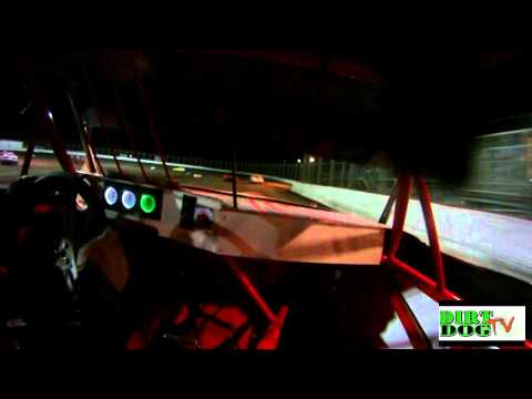 Kennedale Speedway Park, Keith White A-Main  4-02-2011.mp4