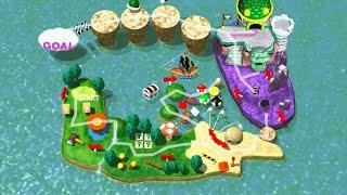 Mario Party 1 & 2 - Minigame Island & Minigame Coaster